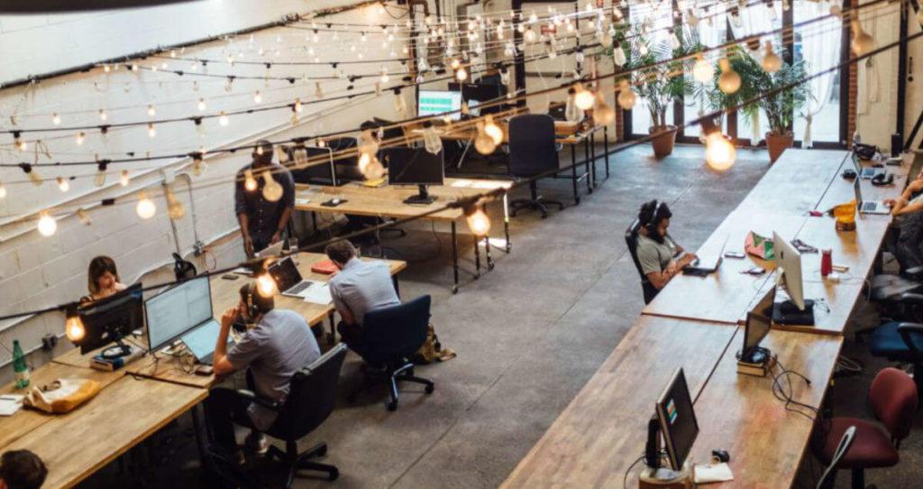 Mieszkanie dla Millenialsów przestrzen coworkingowa