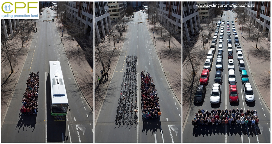 Transport publiczny jest efektywniejszy od indywidualnego (samochodów)